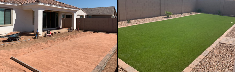 Redwood Landscaping completed a backyard project 3